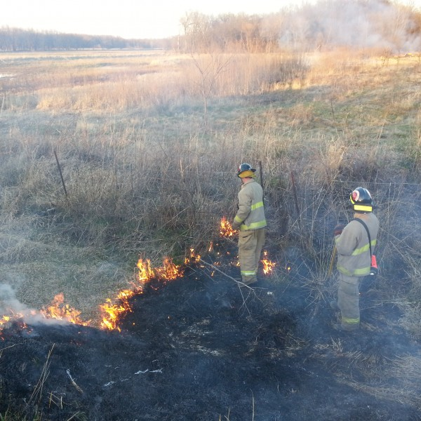 Brush Fire Training