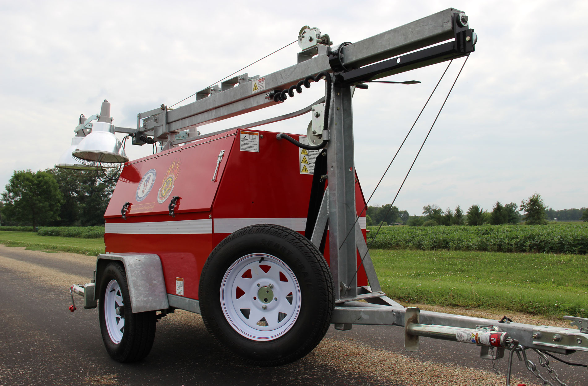Emmet-Chalmers Fire Protection District | Light Trailer